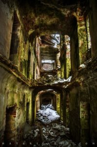 Matericlook: CollapsedCorridors0 by Francesco Perratone Photography and Art, Urbex